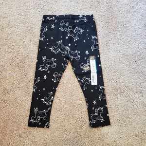 30% Off Bundles NWT Unicorn Black & White Leggings